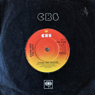 "Adam Ant The Ants - Stand And Deliver (7"") (G-VG/G++) (1)"